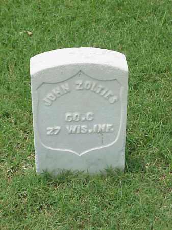 ZOLTIES (VETERAN UNION), JOHN - Pulaski County, Arkansas | JOHN ZOLTIES (VETERAN UNION) - Arkansas Gravestone Photos