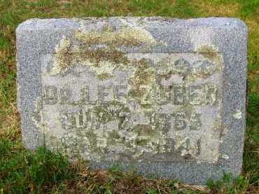 ZUBER, DR LEE ALLEN - Pulaski County, Arkansas | DR LEE ALLEN ZUBER - Arkansas Gravestone Photos