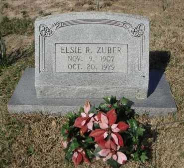 ZUBER, ELSIE RAY - Pulaski County, Arkansas | ELSIE RAY ZUBER - Arkansas Gravestone Photos