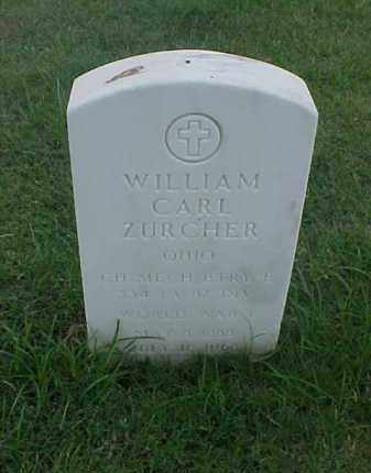 ZURCHER (VETERAN WWI), WILLIAM CARL - Pulaski County, Arkansas | WILLIAM CARL ZURCHER (VETERAN WWI) - Arkansas Gravestone Photos