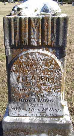 ABBOTT, ELI - Randolph County, Arkansas | ELI ABBOTT - Arkansas Gravestone Photos