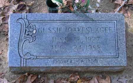 AGEE, GUSSIE - Randolph County, Arkansas | GUSSIE AGEE - Arkansas Gravestone Photos