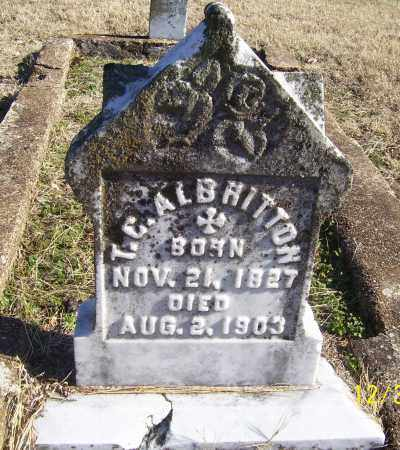 ALBRITTON, T.C. - Randolph County, Arkansas | T.C. ALBRITTON - Arkansas Gravestone Photos