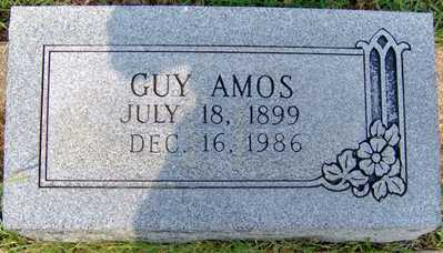 AMOS, JAMES GUY - Randolph County, Arkansas | JAMES GUY AMOS - Arkansas Gravestone Photos