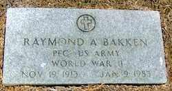 BAKKEN (VETERAN WWI), RAYMOND A - Randolph County, Arkansas | RAYMOND A BAKKEN (VETERAN WWI) - Arkansas Gravestone Photos