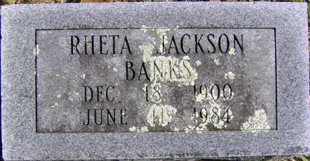 BANKS, RHETA JACKSON - Randolph County, Arkansas | RHETA JACKSON BANKS - Arkansas Gravestone Photos