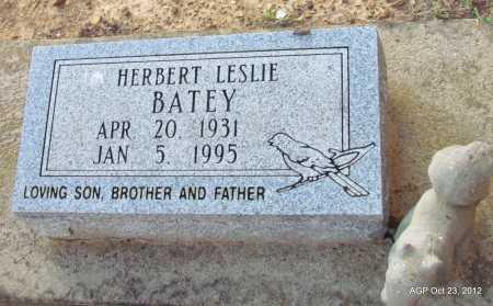BATEY, HERBERT LESLIE - Randolph County, Arkansas | HERBERT LESLIE BATEY - Arkansas Gravestone Photos