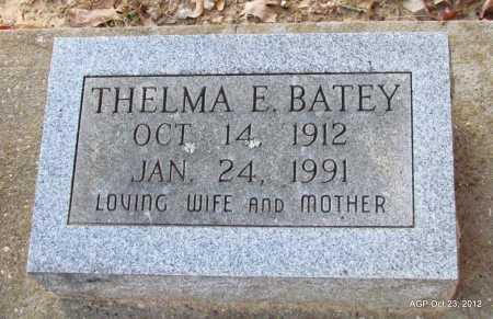 BATEY, THELMA E - Randolph County, Arkansas | THELMA E BATEY - Arkansas Gravestone Photos