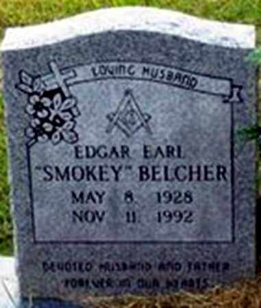 "BELCHER, EDGAR EARL ""SMOKEY"" - Randolph County, Arkansas 