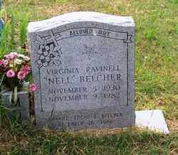 "BELCHER, VIRGINIA RAVINELL ""NELL"" - Randolph County, Arkansas 
