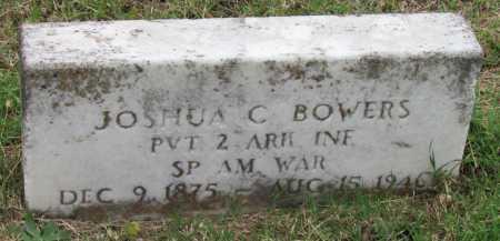 BOWERS (VETERAN SAW), JOSHUA C - Randolph County, Arkansas | JOSHUA C BOWERS (VETERAN SAW) - Arkansas Gravestone Photos