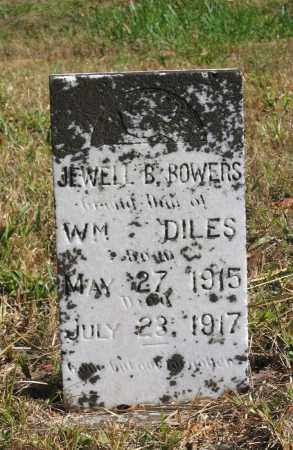 BOWERS, JEWELL R. - Randolph County, Arkansas | JEWELL R. BOWERS - Arkansas Gravestone Photos