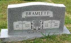 BRAMLETT, GERTRUDE AGNES - Randolph County, Arkansas | GERTRUDE AGNES BRAMLETT - Arkansas Gravestone Photos