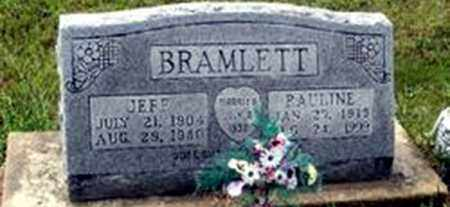 BRAMLETT, JEFF - Randolph County, Arkansas | JEFF BRAMLETT - Arkansas Gravestone Photos