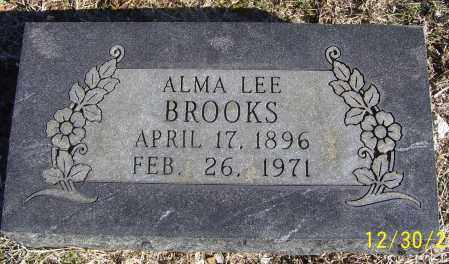 BROOKS, ALMA LEE - Randolph County, Arkansas | ALMA LEE BROOKS - Arkansas Gravestone Photos