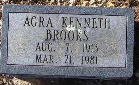 BROOKS, AGRA KENNETH - Randolph County, Arkansas | AGRA KENNETH BROOKS - Arkansas Gravestone Photos