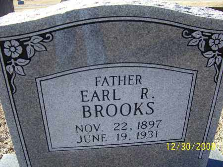 BROOKS, EARL R. - Randolph County, Arkansas | EARL R. BROOKS - Arkansas Gravestone Photos