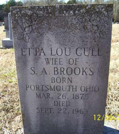 CULL BROOKS, ETTA LOU - Randolph County, Arkansas | ETTA LOU CULL BROOKS - Arkansas Gravestone Photos