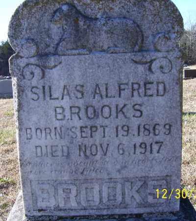 BROOKS, SILAS ALFRED - Randolph County, Arkansas | SILAS ALFRED BROOKS - Arkansas Gravestone Photos