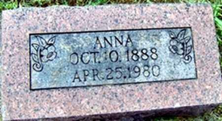 BROWN, ANNA - Randolph County, Arkansas | ANNA BROWN - Arkansas Gravestone Photos