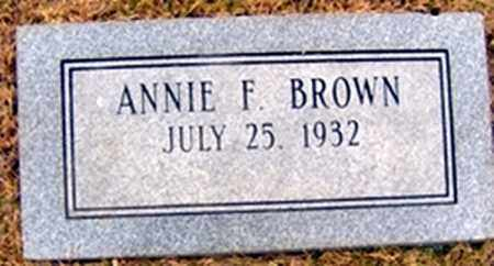 FRIERSON BROWN, ANNIE - Randolph County, Arkansas | ANNIE FRIERSON BROWN - Arkansas Gravestone Photos