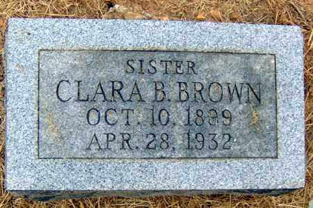 BROWN, CLARA B - Randolph County, Arkansas | CLARA B BROWN - Arkansas Gravestone Photos