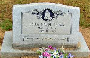 BROWN, DELLA MAUDE - Randolph County, Arkansas | DELLA MAUDE BROWN - Arkansas Gravestone Photos