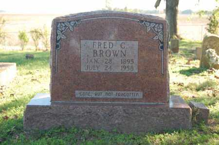 BROWN, FRED C. - Randolph County, Arkansas | FRED C. BROWN - Arkansas Gravestone Photos