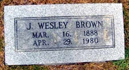 BROWN, JAMES WESLEY - Randolph County, Arkansas | JAMES WESLEY BROWN - Arkansas Gravestone Photos