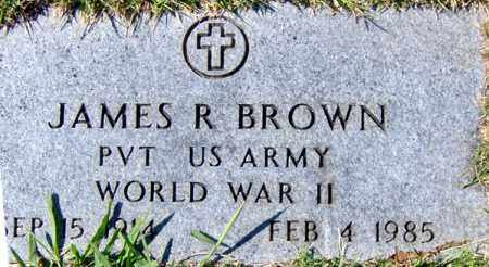 BROWN (VETERAN WWII), JAMES RAYMOND - Randolph County, Arkansas | JAMES RAYMOND BROWN (VETERAN WWII) - Arkansas Gravestone Photos