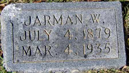 BROWN, JARMAN W - Randolph County, Arkansas | JARMAN W BROWN - Arkansas Gravestone Photos
