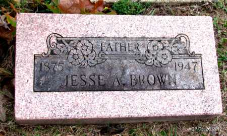 BROWN, JESSE ABNER - Randolph County, Arkansas | JESSE ABNER BROWN - Arkansas Gravestone Photos