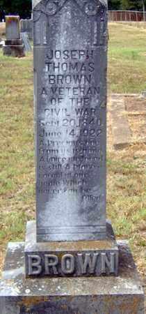 BROWN (VETERAN), JOSEPH THOMAS - Randolph County, Arkansas | JOSEPH THOMAS BROWN (VETERAN) - Arkansas Gravestone Photos