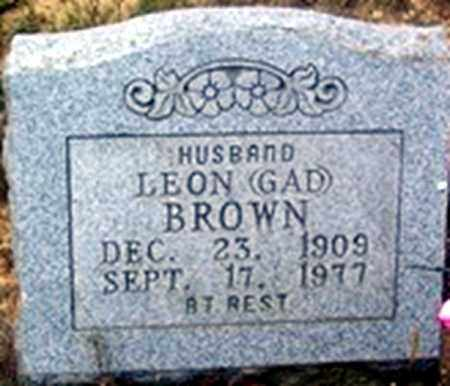 BROWN, LEON GAD - Randolph County, Arkansas | LEON GAD BROWN - Arkansas Gravestone Photos