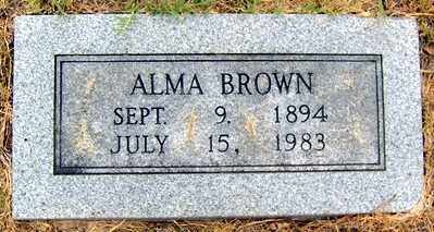 MCILROY BROWN, MINNIE ALMA - Randolph County, Arkansas | MINNIE ALMA MCILROY BROWN - Arkansas Gravestone Photos
