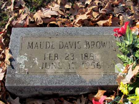 BROWN, MAUDE - Randolph County, Arkansas | MAUDE BROWN - Arkansas Gravestone Photos