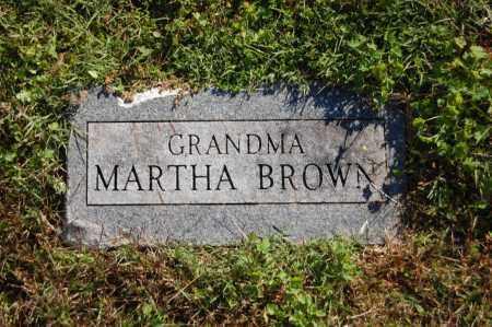 BROWN, MARTHA - Randolph County, Arkansas | MARTHA BROWN - Arkansas Gravestone Photos