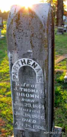 BRIDGES BROWN, PARTHENA E - Randolph County, Arkansas | PARTHENA E BRIDGES BROWN - Arkansas Gravestone Photos