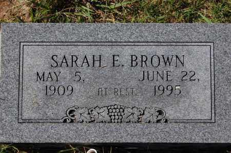 ROTHE BROWN, SARAH E. - Randolph County, Arkansas | SARAH E. ROTHE BROWN - Arkansas Gravestone Photos