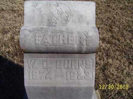BURNS, W. D. - Randolph County, Arkansas | W. D. BURNS - Arkansas Gravestone Photos