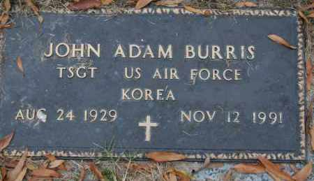 BURRIS (VETERAN KOR), JOHN ADAM - Randolph County, Arkansas | JOHN ADAM BURRIS (VETERAN KOR) - Arkansas Gravestone Photos