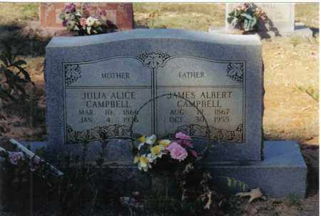 CAMPBELL, JAMES ALBERT - Randolph County, Arkansas | JAMES ALBERT CAMPBELL - Arkansas Gravestone Photos