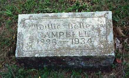 CAMPBELL, WILLIE BELLE - Randolph County, Arkansas | WILLIE BELLE CAMPBELL - Arkansas Gravestone Photos