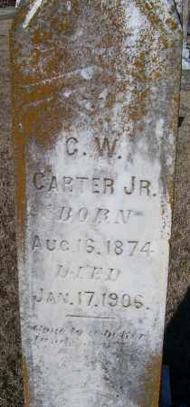 CARTER, C. W.  JR - Randolph County, Arkansas | C. W.  JR CARTER - Arkansas Gravestone Photos