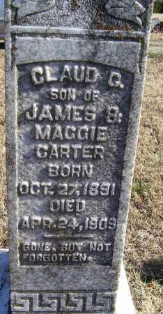 CARTER, CLAUD C. - Randolph County, Arkansas | CLAUD C. CARTER - Arkansas Gravestone Photos
