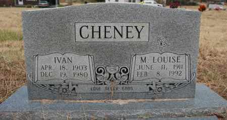 CHENEY, M. LOUISE - Randolph County, Arkansas | M. LOUISE CHENEY - Arkansas Gravestone Photos