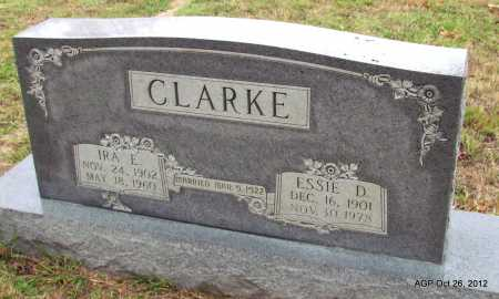 BROWN CLARKE, ESSIE D - Randolph County, Arkansas | ESSIE D BROWN CLARKE - Arkansas Gravestone Photos