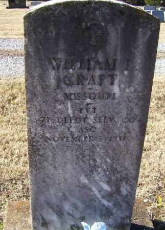 CRAFT (VETERAN WWI), WILLIAM LUTHER - Randolph County, Arkansas | WILLIAM LUTHER CRAFT (VETERAN WWI) - Arkansas Gravestone Photos