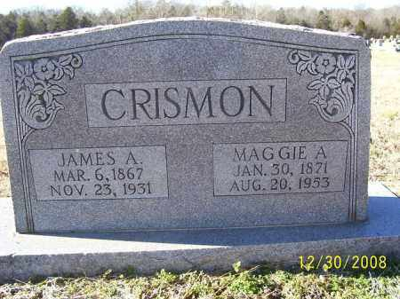CRISMON, MAGGIE CARTER - Randolph County, Arkansas | MAGGIE CARTER CRISMON - Arkansas Gravestone Photos