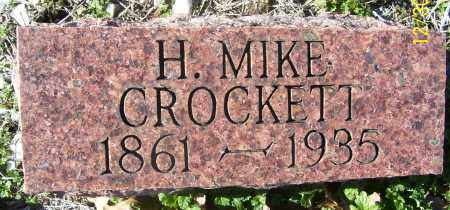 CROCKETT, H. MIKE - Randolph County, Arkansas | H. MIKE CROCKETT - Arkansas Gravestone Photos